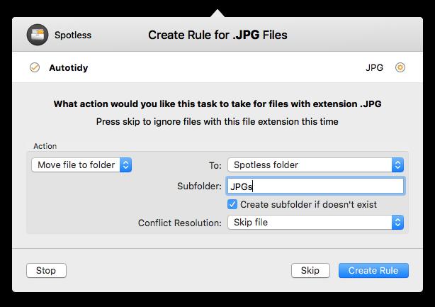 Spotless Mac 破解版 自动整理文件夹软件-麦氪搜(iMacso.com)